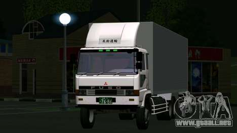 Mitsubishi Fuso The Great Box para GTA San Andreas