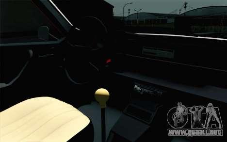 Dacia 1310 TX para GTA San Andreas vista hacia atrás