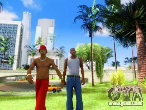 ENB Graphics Enhancement v2.0 para GTA San Andreas quinta pantalla