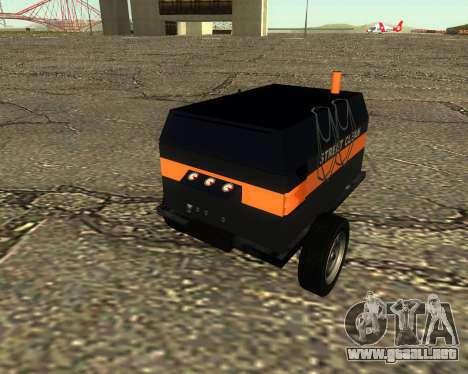 Multi Utility Trailer 3 in 1 para la visión correcta GTA San Andreas