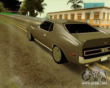 AMC AMX Brutol para GTA San Andreas left