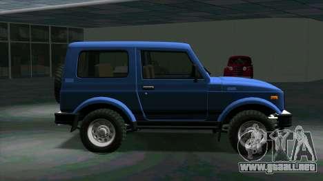 Suzuki Samurai para GTA San Andreas left