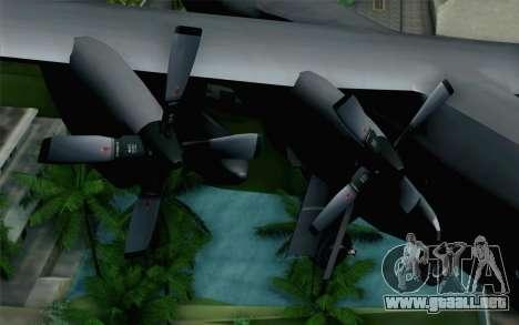 C-130H Hercules Polish Air Force para la visión correcta GTA San Andreas