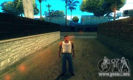 ENB Series para baja y Media de la PC para GTA San Andreas