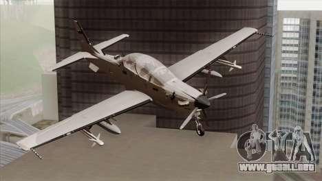 Embraer A-29B Super Tucano Low Visibility para GTA San Andreas