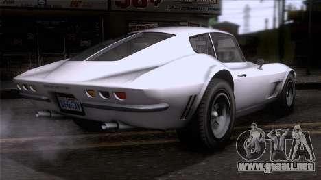 GTA 5 Invetero Coquette Classic HT SA Mobile para GTA San Andreas left