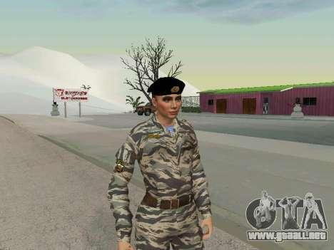 Kira Lebedev para GTA San Andreas segunda pantalla