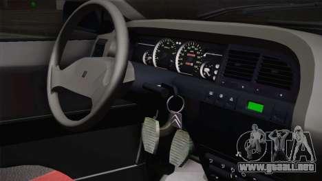 Citroen Xantia Tuning para GTA San Andreas vista hacia atrás