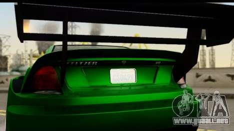 GTA 5 Benefactor Feltzer SA Mobile para la visión correcta GTA San Andreas