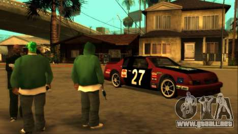 Beta Hotring Racer para GTA San Andreas left