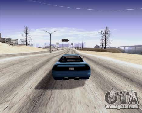 GtD ENBseries para GTA San Andreas segunda pantalla
