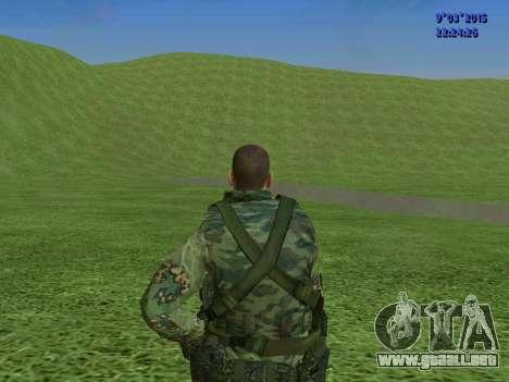 Un luchador de Esparta batallón para GTA San Andreas séptima pantalla