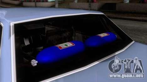 Primo GT para la visión correcta GTA San Andreas