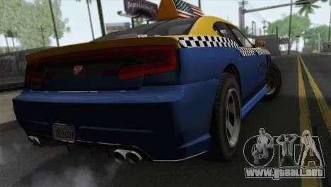 GTA 5 Bravado Buffalo S Downtown Cab Co. para GTA San Andreas left