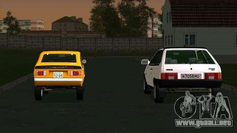 Mitsubishi Minica Skipper para GTA San Andreas left