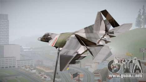 F-15 JASDF 50th Anniversary para GTA San Andreas left
