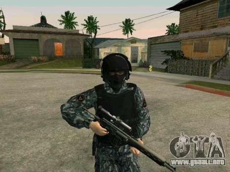 La policía para GTA San Andreas segunda pantalla