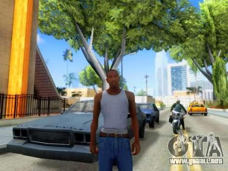 ENB Graphics Enhancement v2.0 para GTA San Andreas tercera pantalla