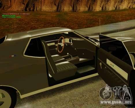 AMC AMX Brutol para GTA San Andreas vista posterior izquierda