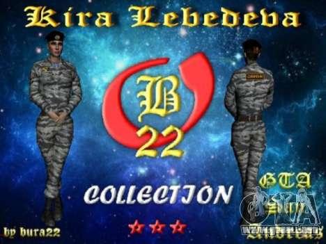 Kira Lebedev para GTA San Andreas séptima pantalla