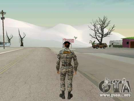 Kira Lebedev para GTA San Andreas tercera pantalla