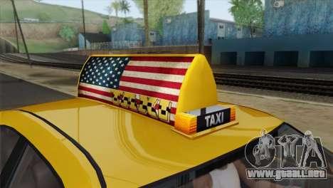 GTA 5 Bravado Buffalo S Downtown Cab Co. para la visión correcta GTA San Andreas