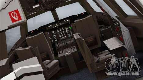 DC-10-30 Garuda Indonesia para GTA San Andreas vista hacia atrás