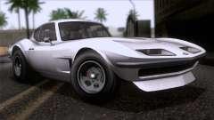 GTA 5 Invetero Coquette Classic HT SA Mobile para GTA San Andreas