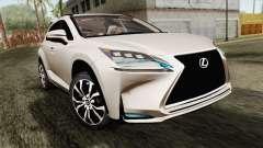 Lexus NX 200T para GTA San Andreas
