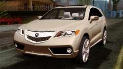 Acura MDX 2009 para GTA San Andreas