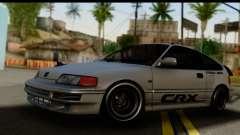 Honda CRX Dragster para GTA San Andreas