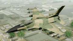 F-16 Fighter-Bomber Green-Brown Camo