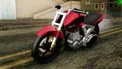 Honda Twister 250 v2 para GTA San Andreas