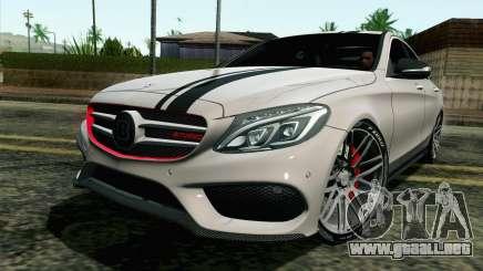 Mercedes-Benz C250 AMG Brabus Biturbo Edition para GTA San Andreas