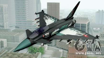EuroFighter Typhoon 2000 Black Hawk para GTA San Andreas