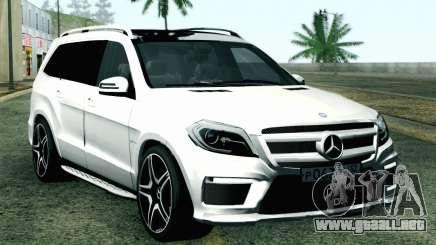 Mercedes-Benz GL63 AMG 2014 para GTA San Andreas
