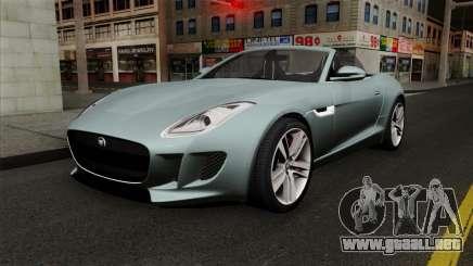 Jaguar F-Type para GTA San Andreas
