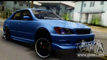 Lexus IS300 sedán para GTA San Andreas