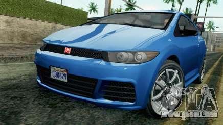 GTA V Dinka Blista SA Mobile para GTA San Andreas