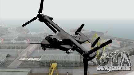 MV-22 Osprey USAF para GTA San Andreas