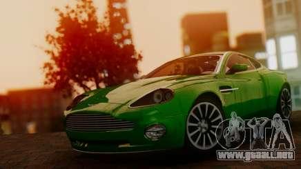 Aston Martin V12 Vanquish 2001 v1.01 para GTA San Andreas