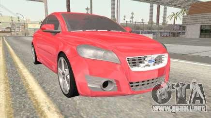Volvo C70 2011 Stock para GTA San Andreas