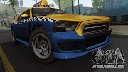 GTA 5 Bravado Buffalo S Downtown Cab Co. para GTA San Andreas