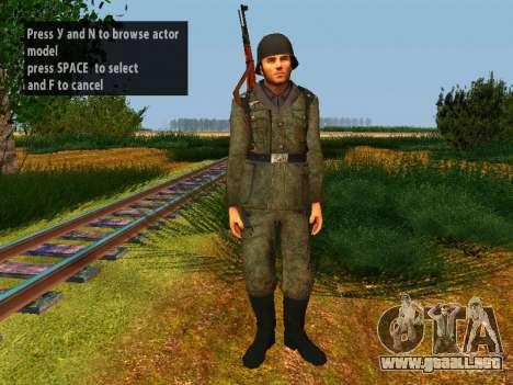 Spanish soldiers para GTA San Andreas