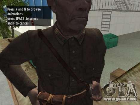El Comisionado De Markov para GTA San Andreas quinta pantalla