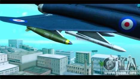 McDonnell Douglas F-4E RAF para la visión correcta GTA San Andreas