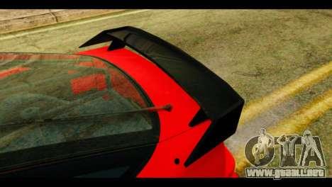 Nissan 240SX para GTA San Andreas vista hacia atrás