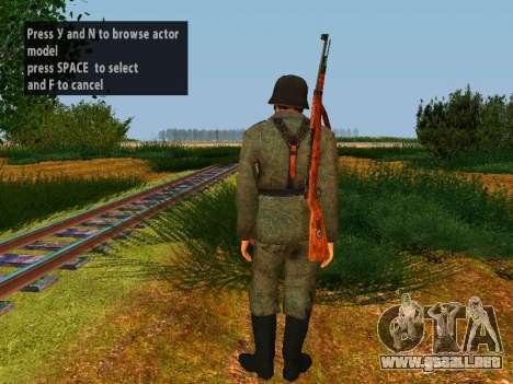 Spanish soldiers para GTA San Andreas séptima pantalla