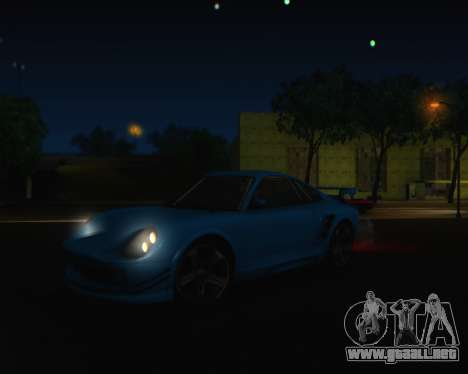ENBSeries by IE585 V2.1 para GTA San Andreas quinta pantalla