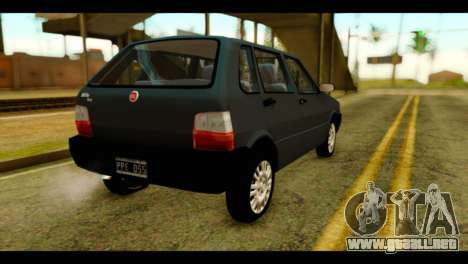Fiat Uno Fire Mille para GTA San Andreas left